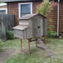 Bungalow Hen House Nesting Box Side Profile