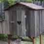 Bungalow Hen House – Side Profile