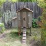 Cottage Hen House Front Profile