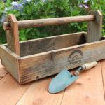 Rustic Garden Caddy