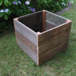 20 Inch Square Planter Box Vertical Profile