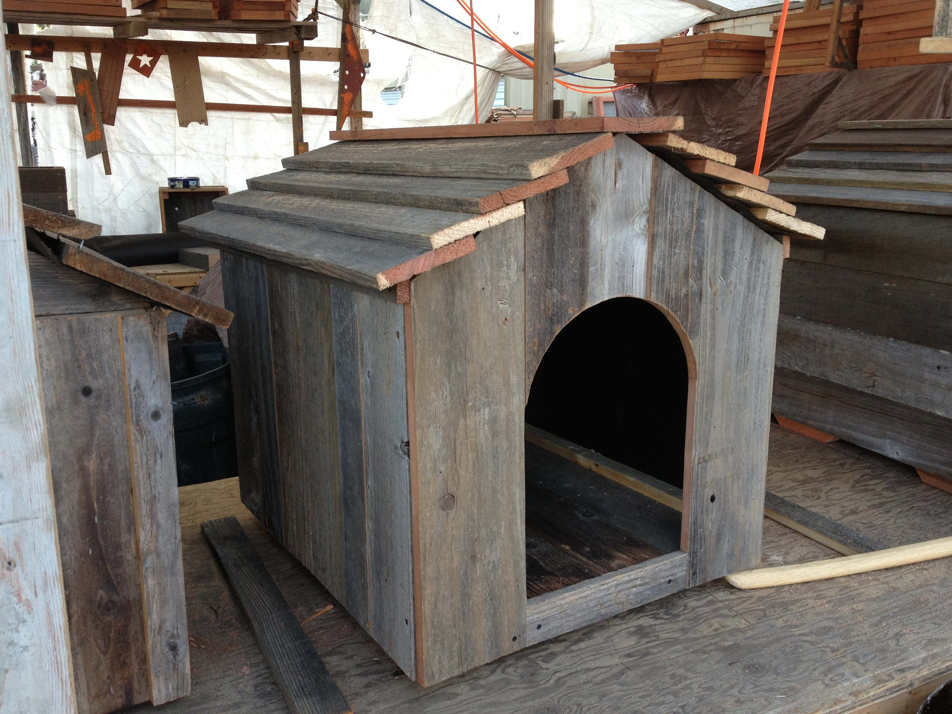 Rustic Dog House Urban Garden Workshop